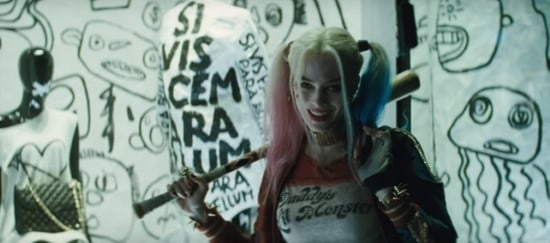 margot robbie as harleyquinn in suicide squad
