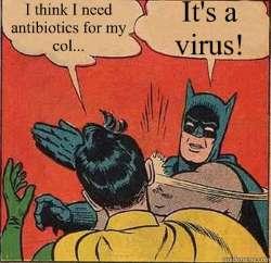 It's a virus!